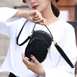 Wholesale Wrist Zipper Wallet Australia - Fashion Women Crossbody Zipper Mobile Phone Shoulder Bag Lady Female Multifunction Handbag Wrist Purse Wallet New Hot 2019