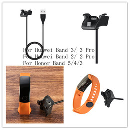 ehren band 3 großhandel-Ersatz Magnetic USB Ladegerät für Huawei Honor Band Standard Version Smart Armband Cradle Dock Kabel für Huawei Band Pro Pro