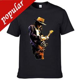 $enCountryForm.capitalKeyWord Australia - China Style Fashion Rock Stevie Ray Vaughan Stephen American Music Guitar Singer T Shirt Printed T Shirts Men's Streetwear
