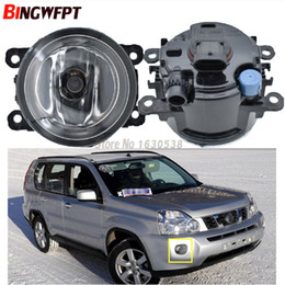 $enCountryForm.capitalKeyWord Australia - 2x LED Fog Lights For NISSAN X-Trail T31 Closed Off-Road Vehicle 2007-2014 Car styling DRL LED Daytime Running Lamps