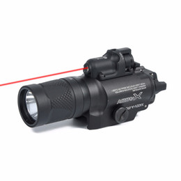 highest output flashlight NZ - X400V IR Night Vision Light Combo Laser Tactical Pistol LED Red Laser Flashlight Ultra High Output