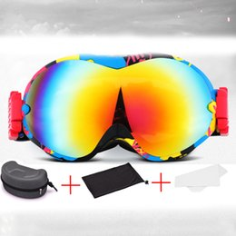 $enCountryForm.capitalKeyWord Australia - Winter Ladies Ski Glasses Outdoor Snowboard Goggles Gafas De Nieve Double-layer Anti-fog Adult Skiing Eyewear Antiparras ski