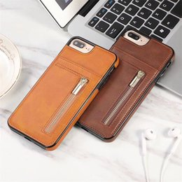 Framed wallet cell phone case online shopping - For Iphone XS Max XR Plus Wallet Cell Phone Case With Zipper For PU Leather Cases Wallet Back Cover With Card Slot Photo Frame