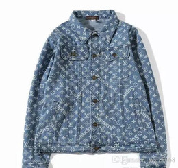 Justin Bieber Fashion Coating Australia - Men brand Best Quality Justin Bieber Fear Of God Denim Jackets women Vintage Style Selvedge Jean Coats Designer Brand Clothing