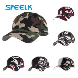 camouflage visors Canada - New Cotton Blend Baseball Caps Men Women Camouflage Visor Cap Lady Casual Climbing Sun Hat Outdoor Gorras Caps