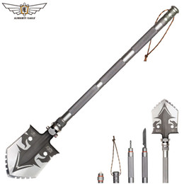 ALMIGHTY EAGLE Professional outdoor survival Tactical Multifunctional Shovel folding Tools Garden camping equipment Army tool on Sale