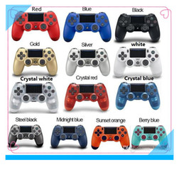Ship game controller online shopping - Bluetooth Wireless PS4 Controller for PS4 Vibration Joystick Gamepad PS4 Game Controller for Sony Play Station With retail box DHL ship