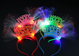 $enCountryForm.capitalKeyWord Australia - Number 2019 LED Flashing Glasses Light Headband Bar Night Club Decorations Glow Party New Year Christmas navidad decorations