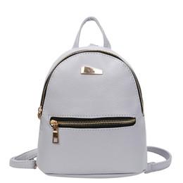 Fashion Women Mini Backpack PU Leather College Shoulder Satchel School  Rucksack Ladies Girls Casual Travel Bag mochilas mujer  32973 f68e0a1d5ab35