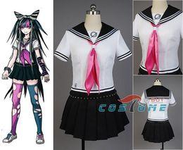 Anime costumes for women online shopping - Anime Super Dangan Ronpa Danganronpa Ibuki Mioda Cosplay Costumes Suit Skirt Halloween For Women Custom MadeMX190923