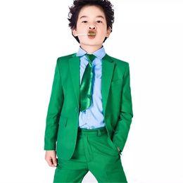 $enCountryForm.capitalKeyWord UK - Brand New Green Boys Formal Occasion Tuxedos Notch Lapel Kids Wedding Tuxedos Child Party Holiday Blazer Suit (Jacket+Pants+Tie) 88