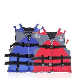 Fish vests online shopping - Life Jacket Fishing Suit Survival Vest Water Sport Tourism Special Purpose Marine Use Child Adult Colors Mix ssf1