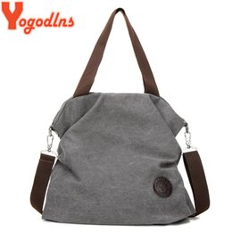 beige canvas shoulder bag NZ - Yogodlns Women Corduroy Canvas Tote Ladies Casual Shoulder Bag Foldable Reusable Shopping Bags Beach Bag Female Cotton Cloth bag CX200529