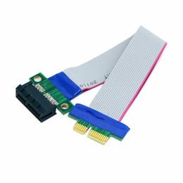 $enCountryForm.capitalKeyWord Australia - None PCI Expres x1 PCI E Riser Card Extender Extension Ribbon Flex Relocate Cable r20