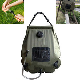 $enCountryForm.capitalKeyWord NZ - Outdoor Water Bag Solar Shower Pocket Convenient Durable Camping Hiking Hunting Shower Bag Pool Accessories Camping Tools