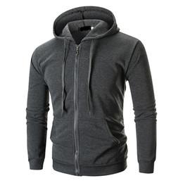 $enCountryForm.capitalKeyWord Australia - Brand 2019 Hoodie Pure Color Zipper Cardigan Hoodies Men Fashion Tracksuit Male Sweatshirt Hoody Mens Purpose Tour Hoodie M-xxl