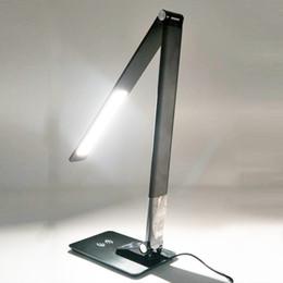 $enCountryForm.capitalKeyWord Australia - Popular Support QI Mobile Phone Charging LED Smart wireless deak lamp use for officehome desk lighting