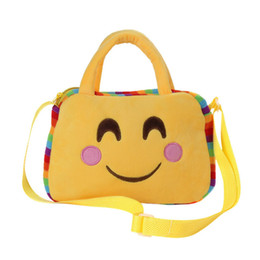 $enCountryForm.capitalKeyWord NZ - Cheap 2019 Hot Sale Women Cute Emoji Emoticon Shoulder School Child Bag Satchel Handbag Female bolso de bandolera A8