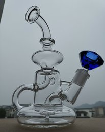 thick matrix perc bong Canada - Bong! New Matrix sidecar glass bong birdcage perc glass pipe thick glass smoking pipes 14.4mm joint