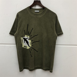 Wholesale tees shirts for sale - Group buy Travis Scott Cactus Jack Highest In The Room T Shirt Men Women High Quality Travis Sco ASTROWORLD T shirt Top Tees