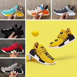$enCountryForm.capitalKeyWord Australia - Fashion Human Race Pharrell Williams Men Women Running shoes Classic Hu trail NERD noble ink core black yellow Runner Sport Athletic Sneaker