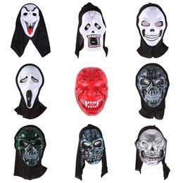 $enCountryForm.capitalKeyWord Australia - Halloween Horror Party Mask Full Scary Ghost Face Covered Mask Demon For Adults And Children Cosplay Prank Props