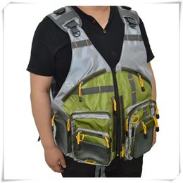 Gear For Camping Australia - Breathable Backpack Gear Vests Adjustable Size for Men Women Outdoor Fishing Camping Fly Fishing Mesh Green