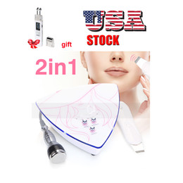 $enCountryForm.capitalKeyWord NZ - USA Stock 3MHZ Ultrasonic Skin Scrubber Facial cleaning beauty Device Blackhead Removal+ gift micro current face lift
