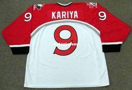 $enCountryForm.capitalKeyWord Australia - Cheap customize PAUL KARIYA 1998 Team Canada Retro Olympic Top Hockey Jersey Mens Stitched Personalized Jerseys