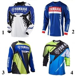 xxl motocross gear NZ - New forYamaha Jersey MX Motocross Jersey Gear Sport Off Road,Dirt Bike,Atv Motocross perspiration Shirt