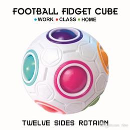 $enCountryForm.capitalKeyWord Australia - Rainbow Fidget Ball Magic Cube Speed Fidget ball Fun Creative Spherical Puzzles Kids Educational Learning Toy game for Children Adult Gifts