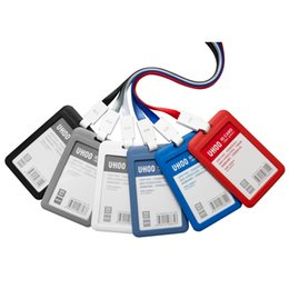 $enCountryForm.capitalKeyWord Australia - New Office School ID Business Case With Lanyard Card Holder Food Grade ABS Plastic Employee Name ID Card Cover Plastic Work Document