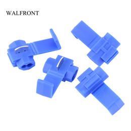 $enCountryForm.capitalKeyWord Australia - Freeshipping 500pcs Set Quick Splice Connector Electrical Wire Crimp Terminals Kit Insulated Splice Cable Connectors for Soft Line