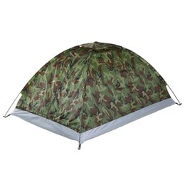$enCountryForm.capitalKeyWord Australia - TOMSHOO Outdoor Camouflage Beach Tent Camping Tent for 2 Person Single Layer polyester fabric Tents PU1000mm Carry Bag Travel