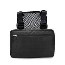 5 Cores Rig Bag Chest Bag Hip Hop Streetwear Tactical Preto Rig Molle Saco de Cintura Funcional Homens À Prova D 'Água Cross Shoulder Bags venda por atacado