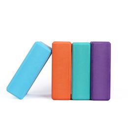 $enCountryForm.capitalKeyWord Australia - EVA Yoga Block Colorful Foam Block Brick Exercise Fitness Tool Exercise Workout Stretching Aid Body Shaping Health Training