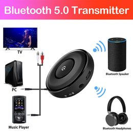 $enCountryForm.capitalKeyWord Australia - Bluetooth 5.0 Transmitter Receiver 2 In 1 Wireless 3.5mm Aux Bluetooth Audio Adapter Car Stereo System For Vehicle Home TV PC