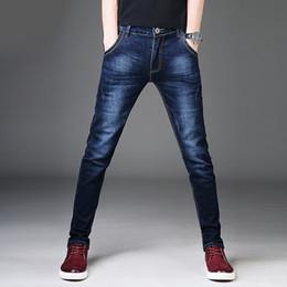 Male jeans korean new online shopping - New Men Jeans Pants Korean Style Blue Mens Skinny Jeans Man Slim Fit Stretch Trousers Men s Denim Pants Casual Male