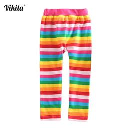 $enCountryForm.capitalKeyWord Australia - Kids Leggings Girls Cartoon Pants Baby Chicas Long Trousers Filles Leggings Rainbow Unicorn Leggings For Girls F5508 Mix