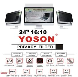 "More Anti Australia - 24"" Privacy Filter Screen Protector Anti Peep Films for Widescreen Desktop Monitors 16:10 Ratio"