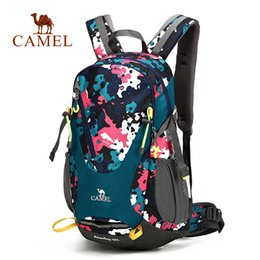 Discount camel outdoor backpack - CAMEL 30L Men & Women Hiking Sports Backpack Decompression Labor Saving Backpack For Camping Traveling Outdoor Bags