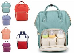 Wholesale Diaper Bags Mommy Backpack Nappies Backpack Mother Maternity Backpacks Outdoor Nursing Travel Bags Organizer Light And Wear Resistant