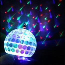 $enCountryForm.capitalKeyWord Australia - 3W led stage light AC85-265V Auto rotate Crystal Disco Ball light colorful DJ magic for Party,KTV,Bar