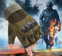 $enCountryForm.capitalKeyWord Australia - 2019 outdoor K-2 hard shell tactical gloves fitness motorcycle riding gloves military enthusiasts special forces combat half finger gloves
