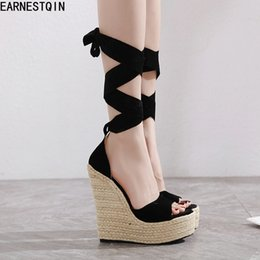 EuropEan womEn sandals wEdgE online shopping - European early spring new comfortable wedges heels women sandals peep toe women shoes