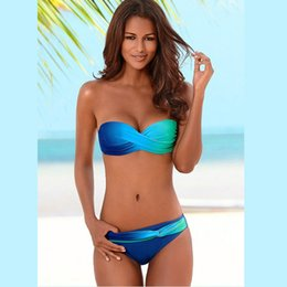 $enCountryForm.capitalKeyWord NZ - Women Sexy Print Swimwear 2019 New Female Two Piece Swimsuit Female Separate Push Up Bikini Set Beach Bathing Suit Micro Bikini S19709