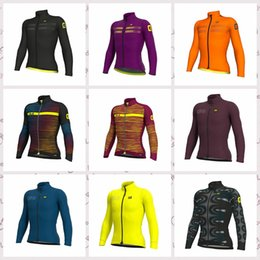 $enCountryForm.capitalKeyWord Australia - ALE team Cycling long Sleeves jersey Polyester tops Outdoor Sports Comfortable MTB bike Cycling clothing Q81701