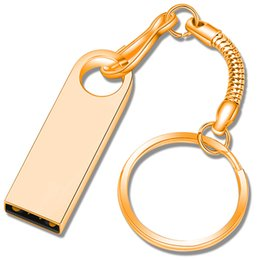 China Flash drives 4GB 8GB 16GB 32GB 64GB 128GB Waterproof Stainless Key Chain USB 3.0 Memory Pen Driver CG-0235 for PC Laptop with free ship supplier 4gb flash drive free shipping suppliers