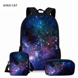 $enCountryForm.capitalKeyWord Australia - Galaxy Space Printed Backpack Teenager Girls School Bags Set Women Travel Bagpack Children Rucksack Mochila Infantil Escolares