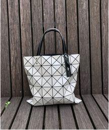 $enCountryForm.capitalKeyWord Australia - 2019 Bao Bao Fashion Handbags Laser Geometry Diamond Shape PVC holographic bag Patchwork Women Totes Shoulder Bag size 34x34cm